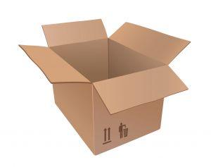 El arte de las cajas de cartón